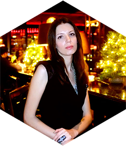 Blogger Ekaterina Tsarkova